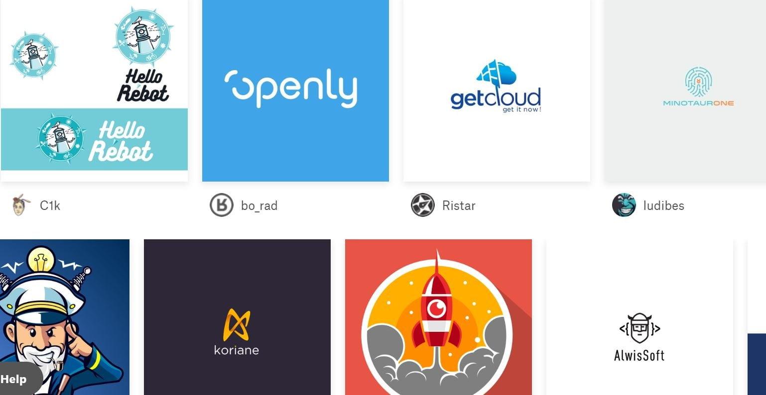 99designs logo samples