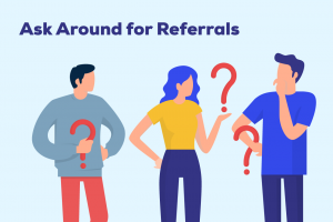 Ask for referrals