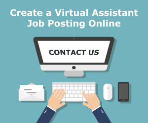 Create a virtual assistant job posting online