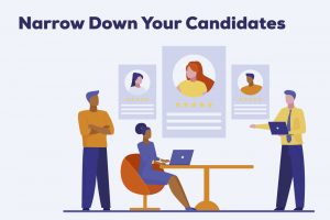 Narrow down your candidates