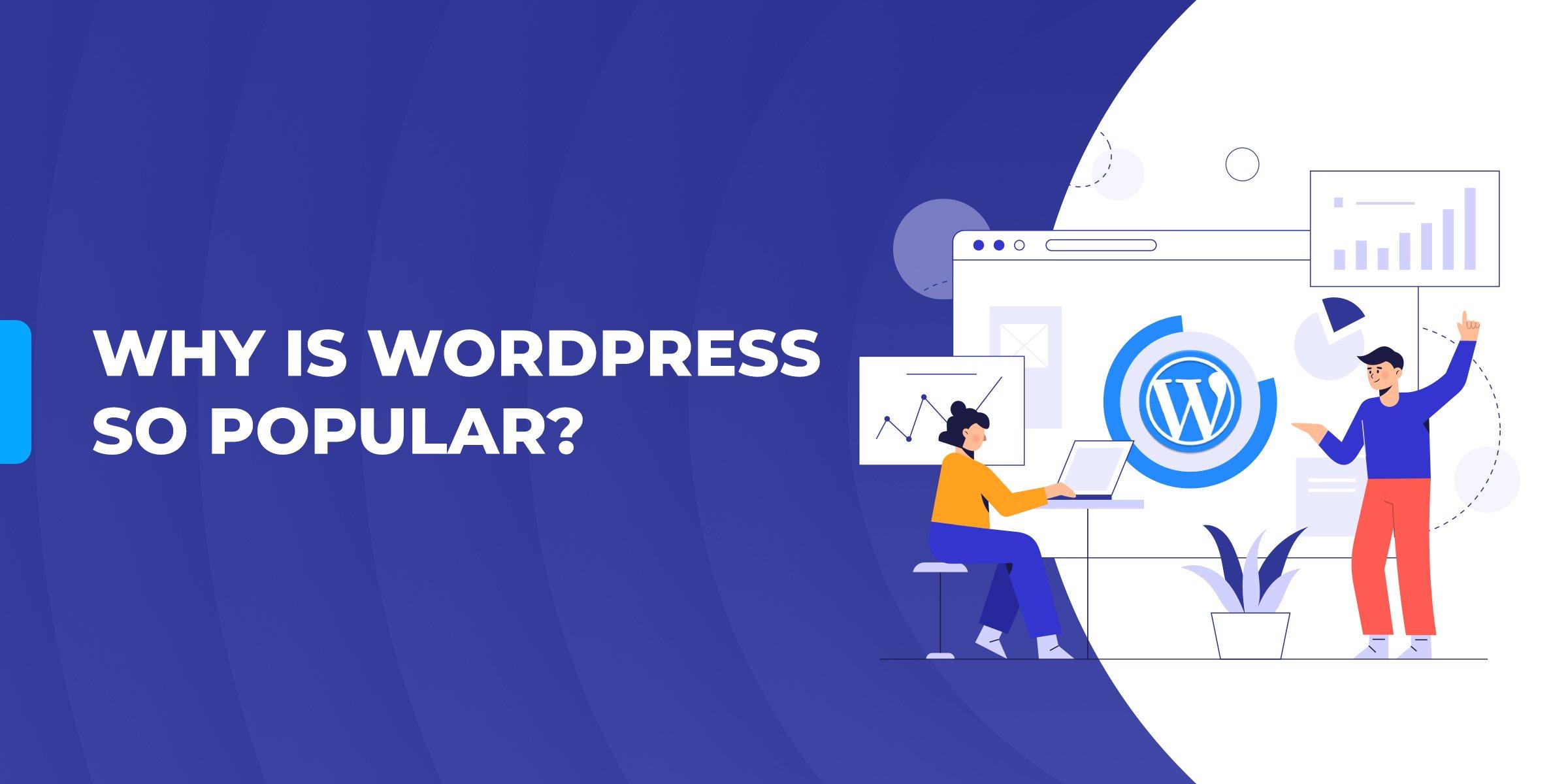 Why is WordPress so popular?