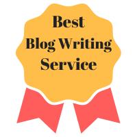 Winner of Best Blog Writing Service