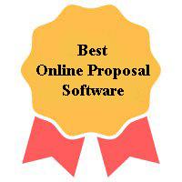 Winner of Best Online Proposal Software