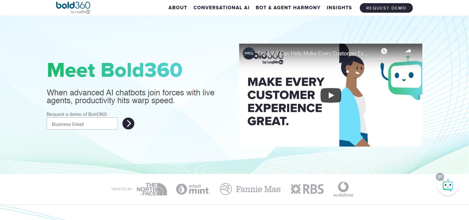 Best AI Chatbots - Bold360