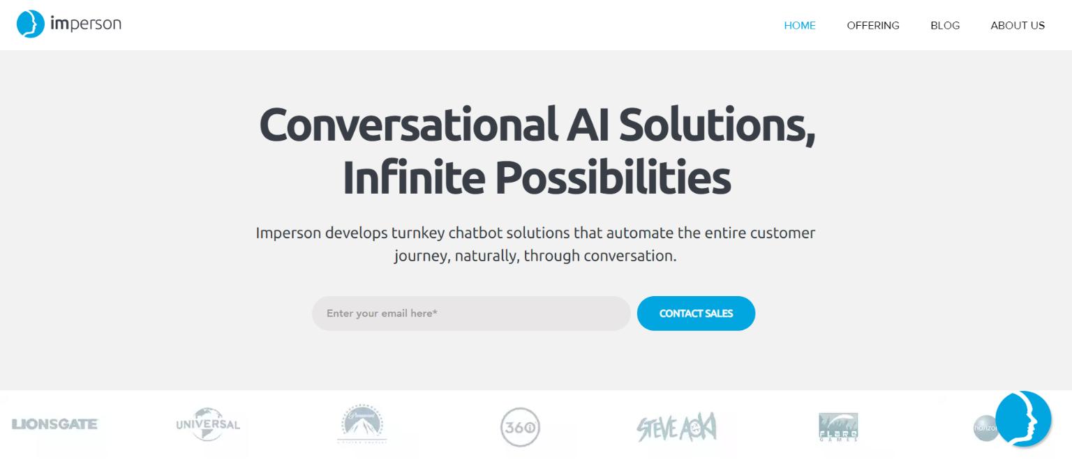 Best AI Chatbots - Imperson