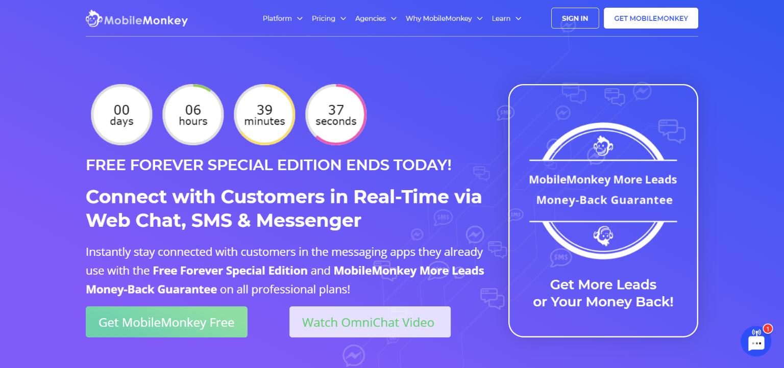Best AI Chatbots - MobileMonkey