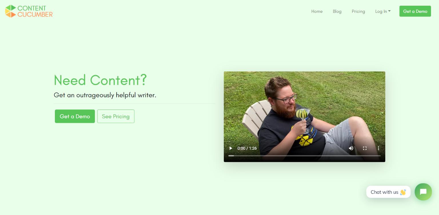Best Freelance Websites - Content Cucumber