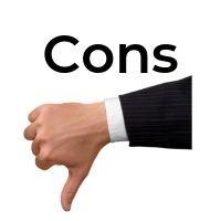 Fiverr Cons