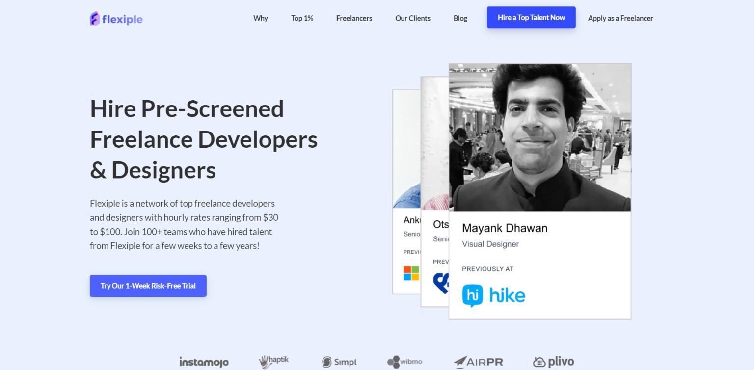 Best Freelance Websites for Developers - Flexiple