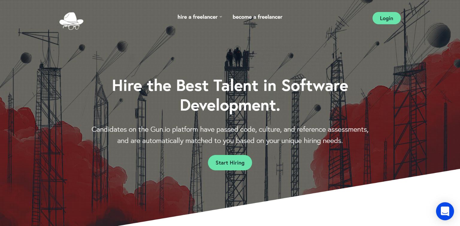 Freelance Websites for Developers - Gun.io