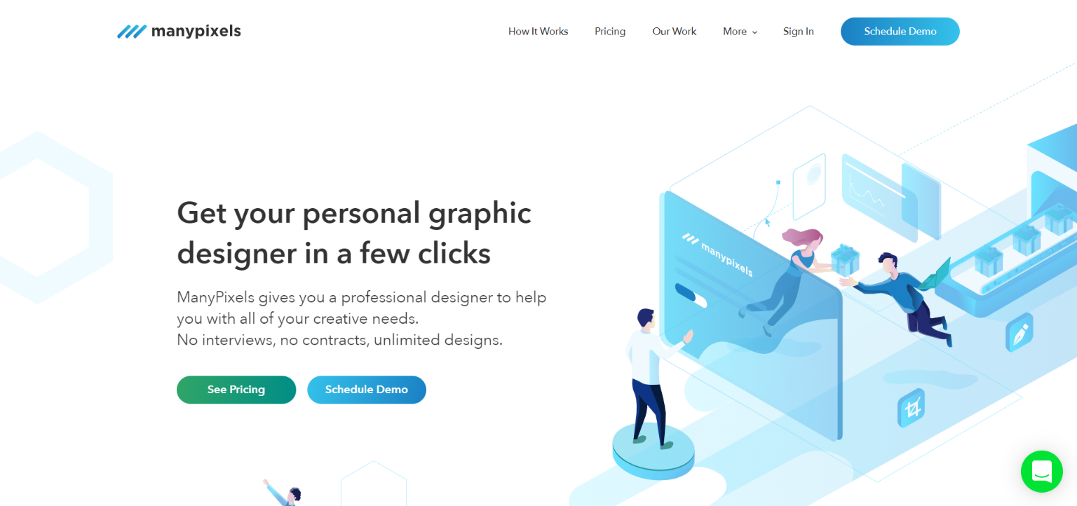 Freelance Websites for Graphic Design - ManyPixels