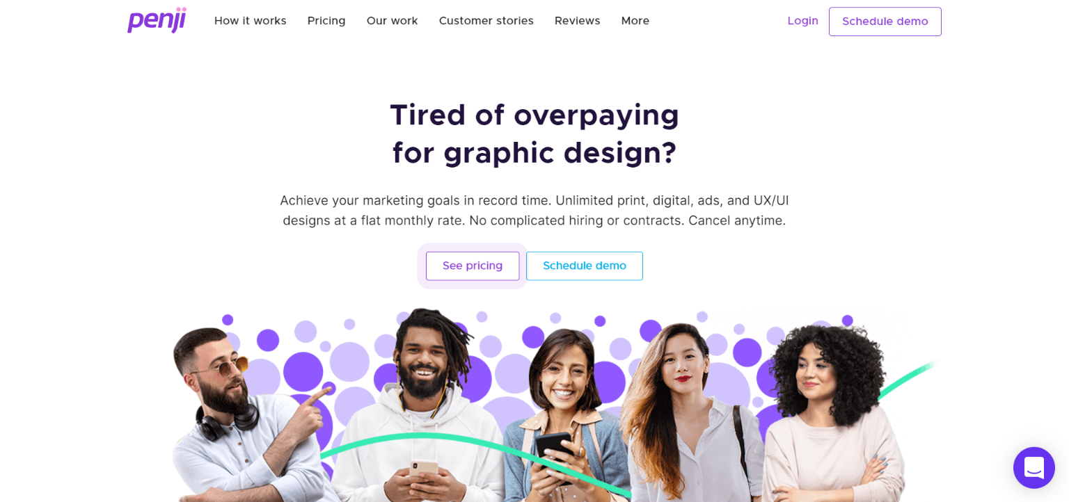 Freelance Websites for Graphic Design - Penji