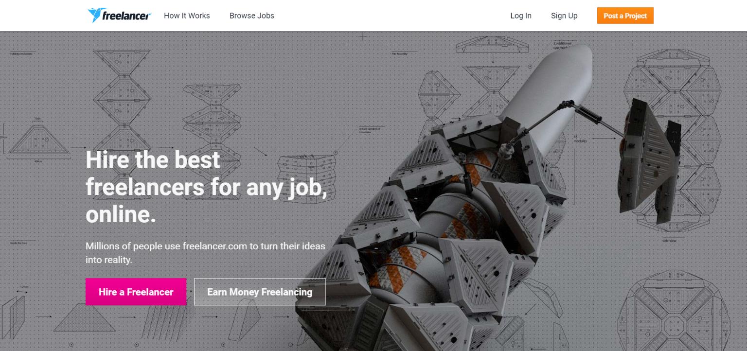 Freelance Websites for Writers - Freelancer.com