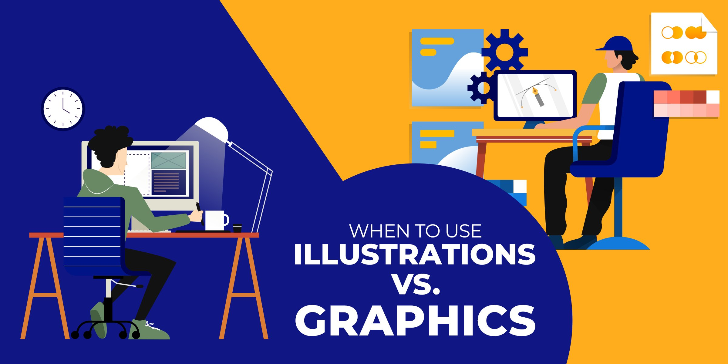 When to Use Illustrations vs Graphics