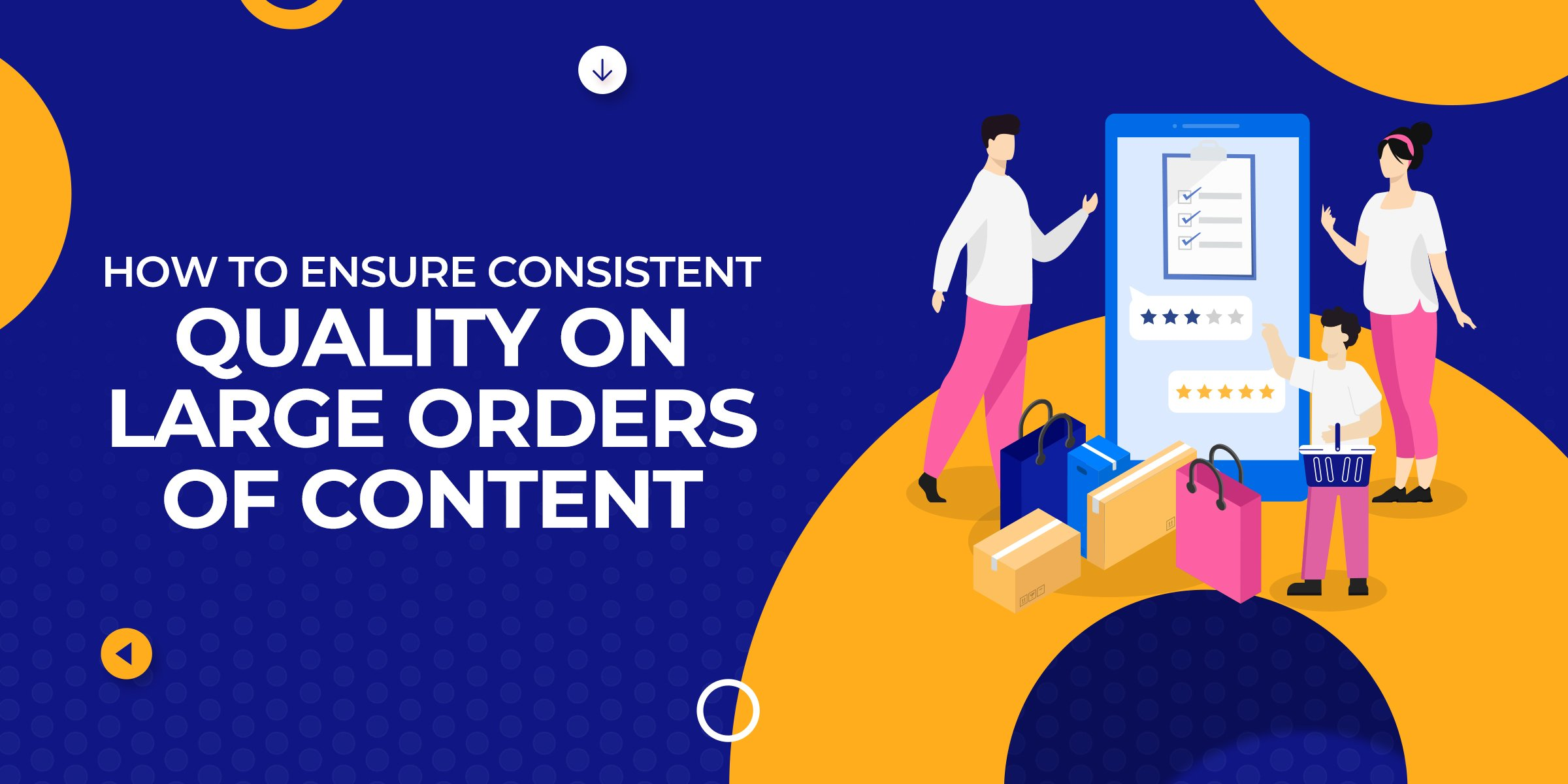How to Ensure Consistent Quality on Larger Orders of Content