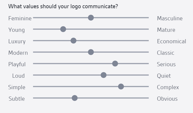 professional logo values