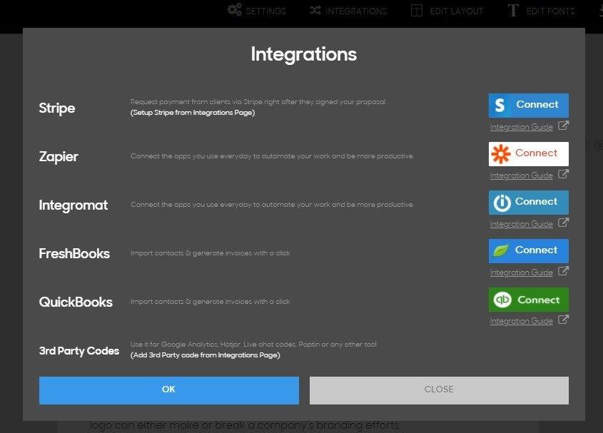 Prospero Review - Integrations