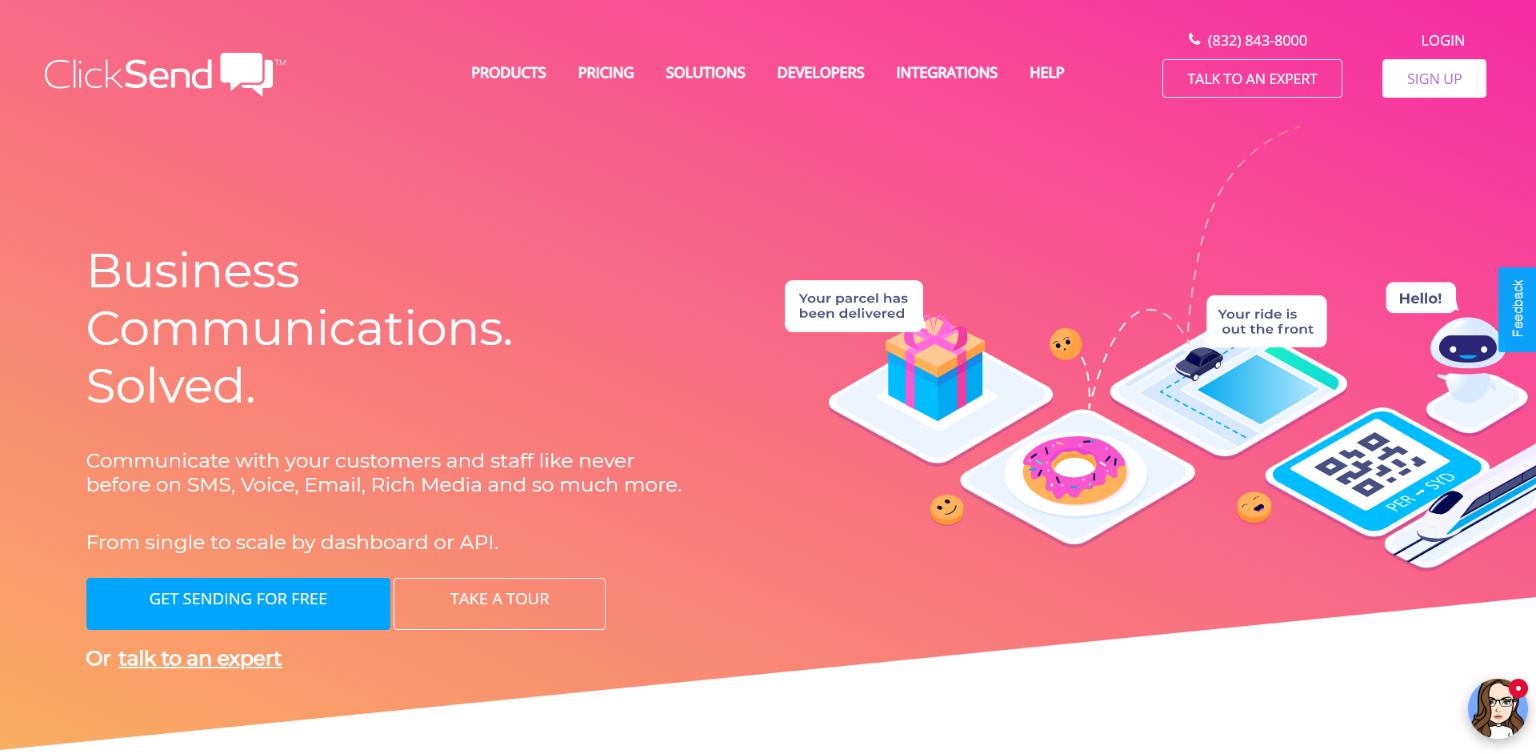 SMS Marketing Software - ClickSend
