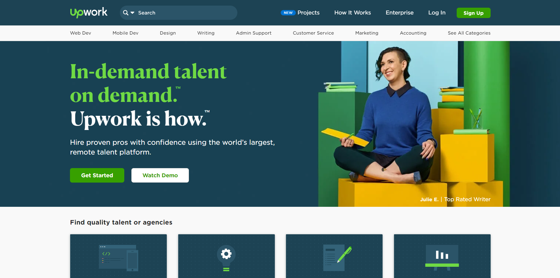 Toptal Alternatives - Upwork