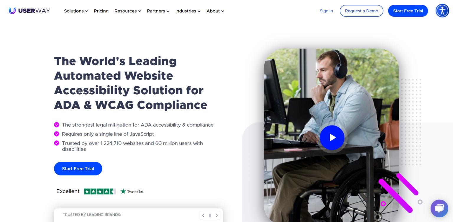 UserWay Website