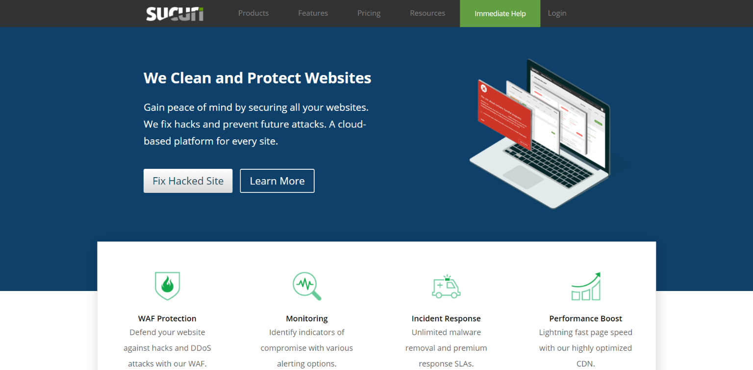 Best WordPress Security Company - Sucuri