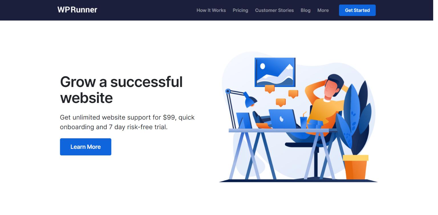 Best WordPress Maintenance Company - WP Runner