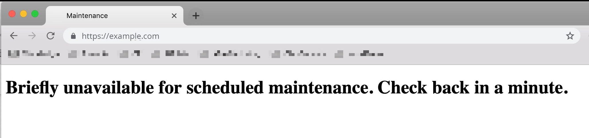 WordPress Maintenance Mode Stuck