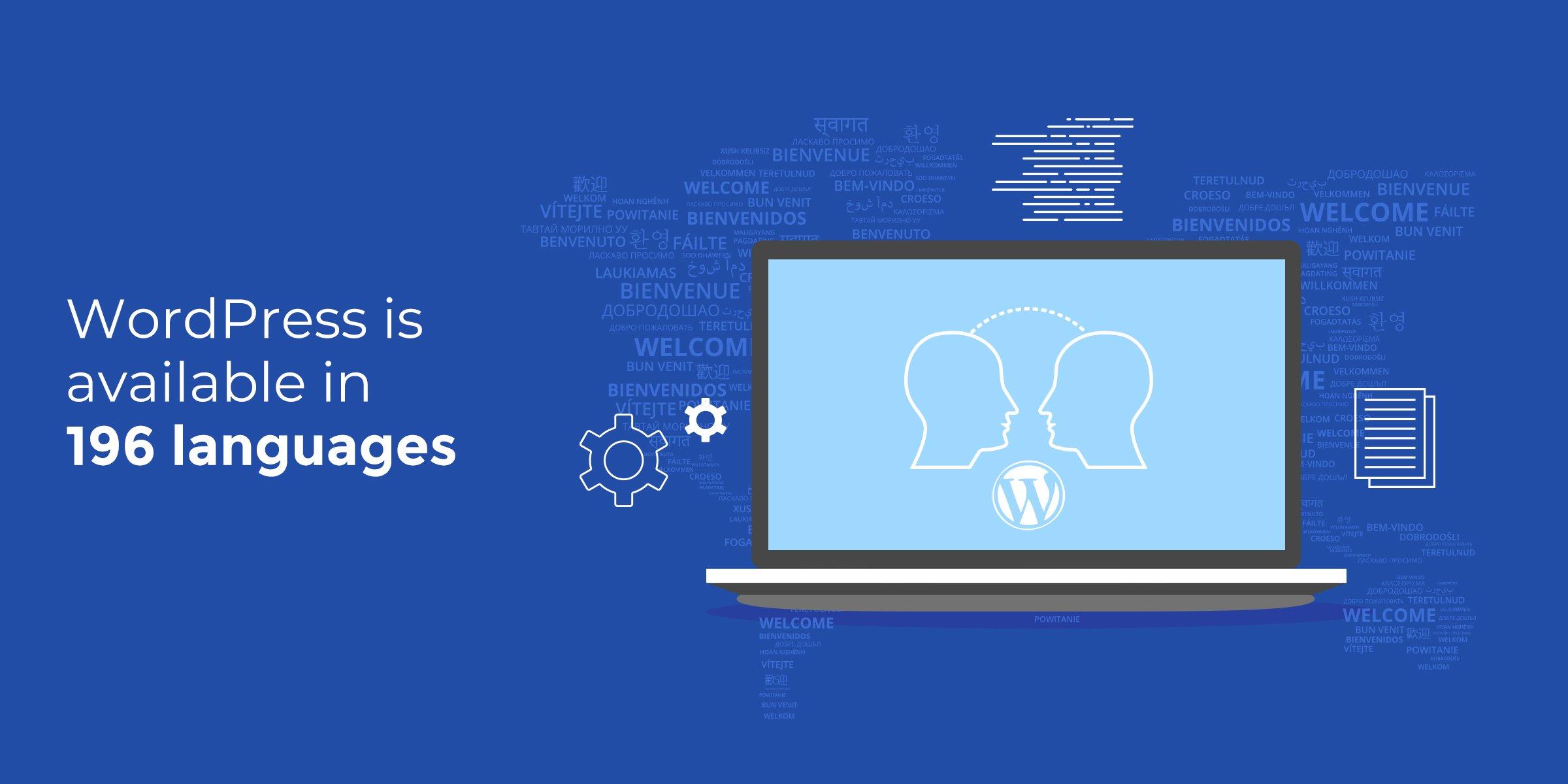 WordPress Statistics - Languages