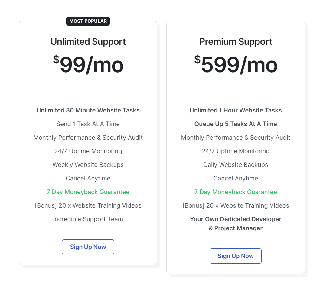 WP Runner Pricing